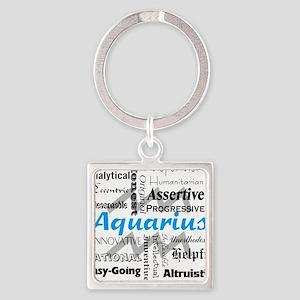 Aquarius Collage Keychains