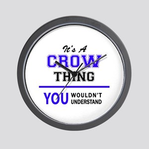 It's CROW thing, you wouldn't understan Wall Clock