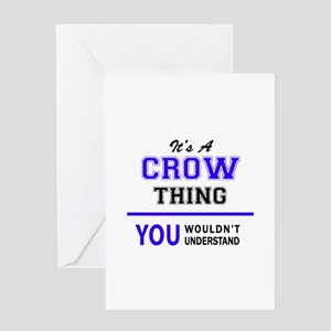 It's CROW thing, you wouldn't under Greeting Cards