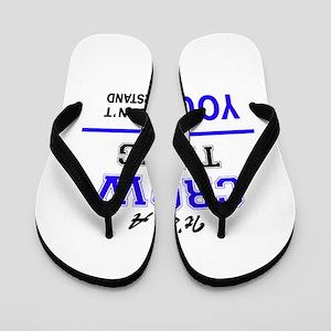 It's CROW thing, you wouldn't understan Flip Flops