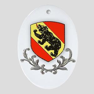 Canton Bern Oval Ornament