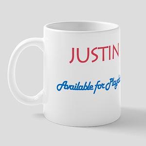 Justin - Available for Playda Mug