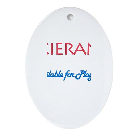 Kieran - Available for Playda Oval Ornament