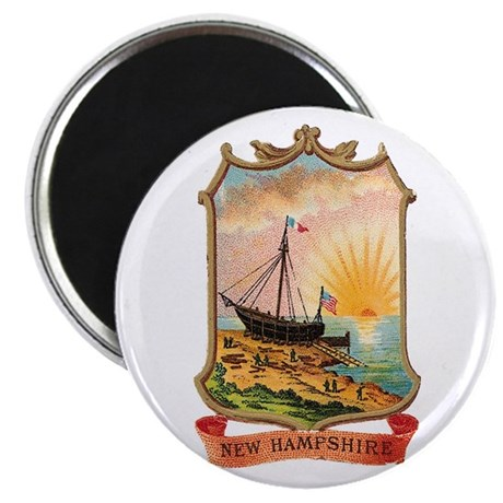 New Hampshire Coat of Arms Magnet