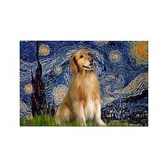 Starry Night / Golden Rectangle Magnet