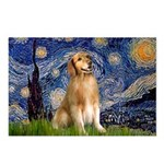Starry Night / Golden Postcards (Package of 8)