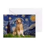 Starry Night / Golden Greeting Cards (Pk of 10)