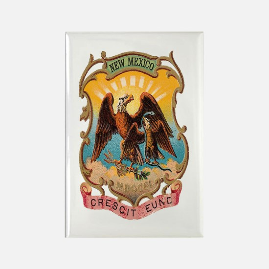 New Mexico Coat of Arms Rectangle Magnet