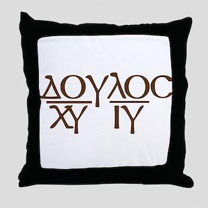 Servant of Christ Jesus (2) Throw Pillow