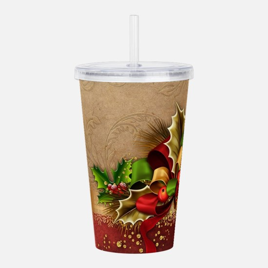 Christmas Decor Acrylic Double-wall Tumbler