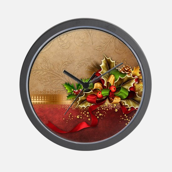 Christmas Decor Wall Clock