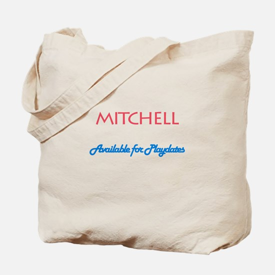 Mitchell - Available for Play Tote Bag