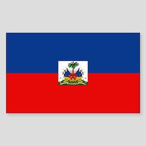 Haiti Rectangle Sticker