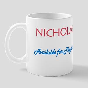 Nicholas - Available for Play Mug