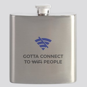 Connect to People Not Wifi Human Touch Conne Flask