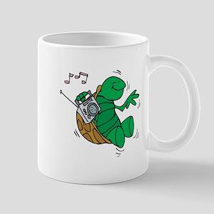 Rockin' Music Turtle Mug