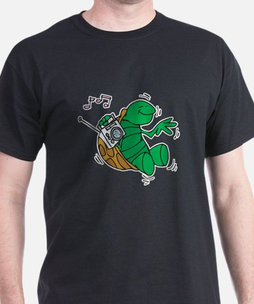 Rockin' Music Turtle T-Shirt