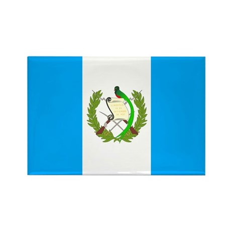Guatemala Rectangle Magnet (10 pack)