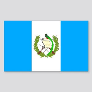 Guatemala Rectangle Sticker
