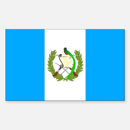 Guatemala Rectangle Decal