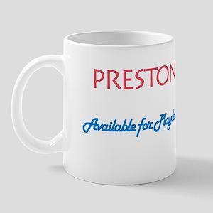 Preston - Available for Playd Mug