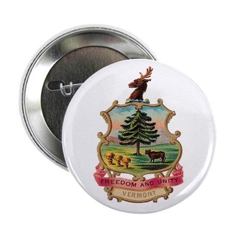 Vermont Coat of Arms Button