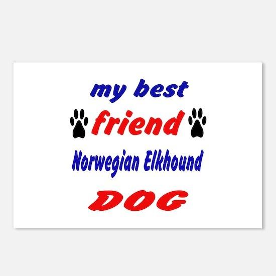 My Best Friend Norwegian Postcards (Package of 8)