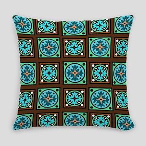 Amish Textile Print Everyday Pillow