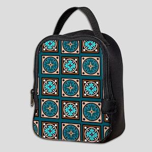 Best Blues Quilt Design Neoprene Lunch Bag