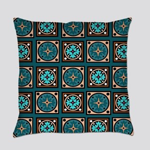 Best Blues Quilt Design Everyday Pillow