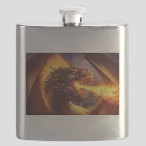 Fire dragon Flask