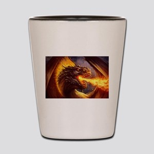 Fire dragon Shot Glass