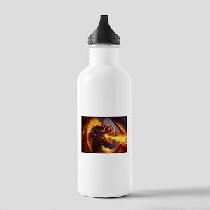 Fire dragon Sports Water Bottle