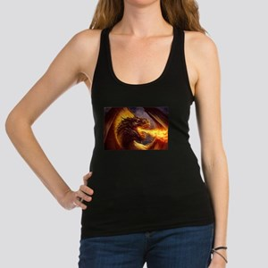 Fire dragon Racerback Tank Top