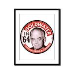 Goldwater-2 Framed Panel Print