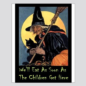 WITCH - WE'LL EAT Small Poster