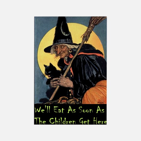 WITCH - WE'LL EAT Rectangle Magnet