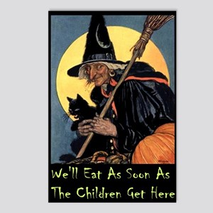 WITCH - WE'LL EAT Postcards (Package of 8)