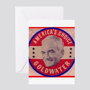 Goldwater-1 Greeting Card
