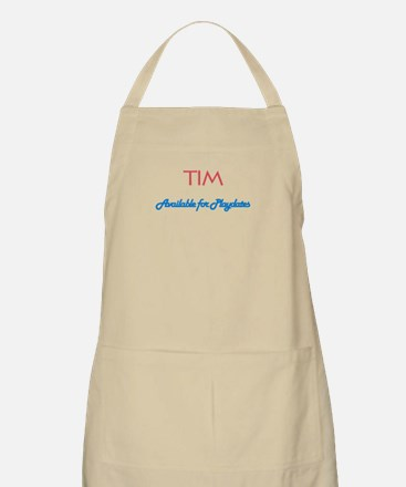Tim - Available for Playdates BBQ Apron