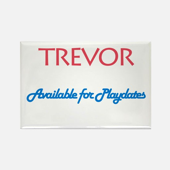 Trevor - Available for Playda Rectangle Magnet (10