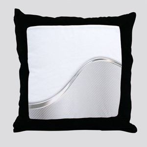 Light Wave Abstract Throw Pillow