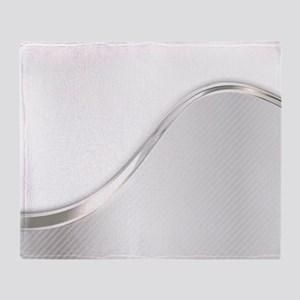 Light Wave Abstract Throw Blanket
