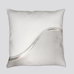 Light Wave Abstract Everyday Pillow