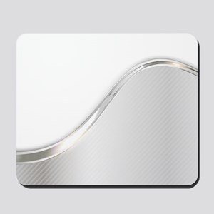 Light Wave Abstract Mousepad