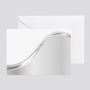 Light Wave Abstract Greeting Card