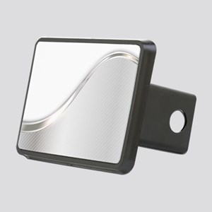Light Wave Abstract Rectangular Hitch Cover
