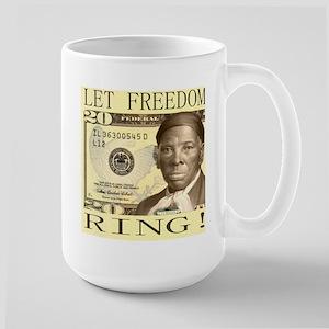 Harriet Tubman $20 Bill Large Mug