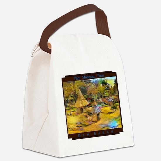 Parc Monceau, Paris Canvas Lunch Bag