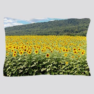 Sea of Sunflowers Pillow Case
